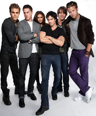 The Vampire Diaries, Ian Somerhalder, ... | PAUL WESLEY, MICHAEL TREVINO, NINA DOBREV, IAN SOMERHALDER, STEVEN R. MCQUEEN, AND MATTHEW DAVIS, The Vampire Diaries