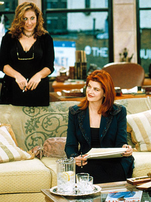 Kathy Najimy, Kirstie Alley, ... | VERONICA'S CLOSET (1997-2000) The loss of this Kristie Alley workplace comedy left a hole in our female-centric comedy lineup. Only a DVD release would help…