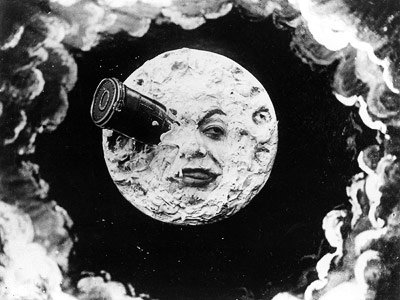 Consider this cinema's very first visual-effects sci-fi extravaganza. In this 12-minute silent short film written and directed by Georges Méliès, a group of doofy astronomers…