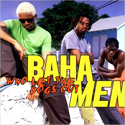 Baha Men's ''Who Let the Dogs Out?'' peaked at #40 on the U.S. Billboard Hot 100, but the song's titular question was so profound that…