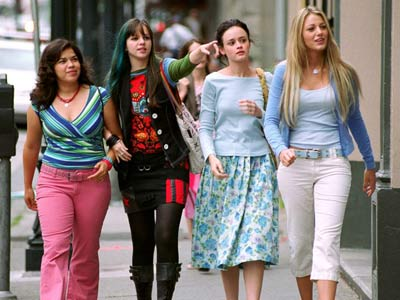 The Sisterhood of the Traveling Pants, Alexis Bledel, ... | SISTERHOOD OF THE TRAVELING PANTS (2005) A heavily sunscreened Alexis Bledel puts on a pair of magical jeans in gorgeous Greece, and lands herself a…