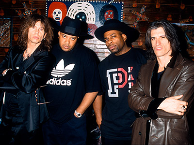 2. RUN-D.M.C. & AEROSMITH ''Walk This Way'' (1986) When the hip-hop kingpins from Queens took on the hard-rock boys of Boston's decade-old hit, their combined…