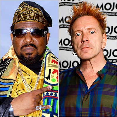 8. AFRIKA BAMBAATAA & JOHN LYDON ''World Destruction'' (1984) The Bronx hip-hop pioneer and the Sex Pistols' loose-cannon ex-frontman (alias Johnny Rotten) unleashed a sociopolitical…