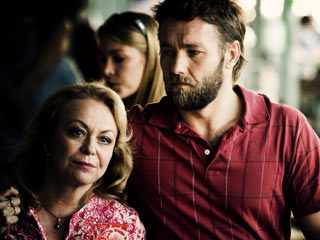 MOMMIE DEAREST Jacki Weaver and Joel Edgerton are in a family of criminals in Animal Kingdom