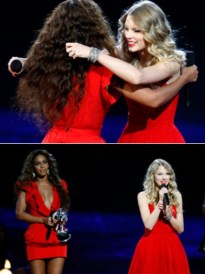 BEST Beyoncé gives Taylor Swift her due