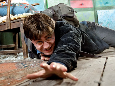 Harry Potter and the Deathly Hallows - Part 1 | ''This film has been hard to make, and I've had some of the most trying moments, both physically and mentally, than ever before,'' Radcliffe says.…