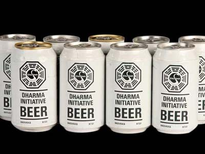 Lost | In Season 3's ''Tricia Tanaka's Dead'' episode, Hurley and Sawyer were elated to discover a batch of DHARMA Initiative beer in the VW van.