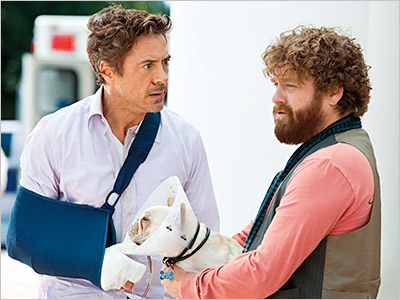 Starring Robert Downey Jr., Zach Galifianakis, Michelle Monaghan ? Directed by Todd Phillips Robert Downey Jr. plays Peter, a tightly wound businessman forced by bizarre…