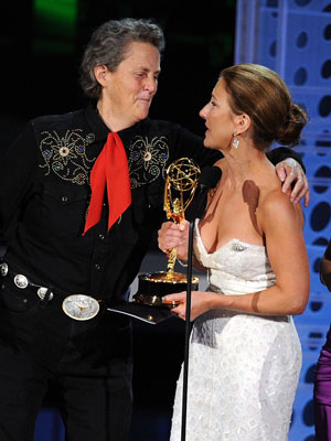 BEST SCENE STEALER Temple Grandin Temple Grandin, the autistic subject of the HBO movie Temple Grandin that took home the Emmy for Made for TV…