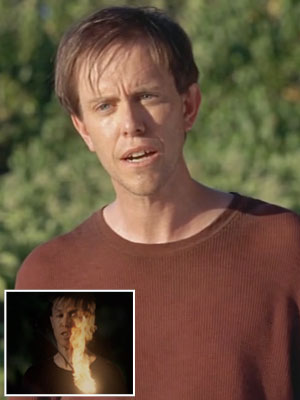 Lost   NEIL ''FROGURT'' (SEAN WHALEN) When: Season 5, episode 1, ''Because You Left'' How: Fittingly, this middle section survivor wore a red shirt on the day…