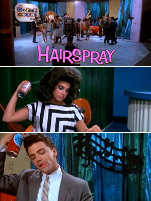 Hairspray (Movie - 1988) | HAIRSPRAY The 1988 cult classic opens with a Rachel Sweet ode to, well, hairspray, as the kids of the Corny Collins show get ready for…
