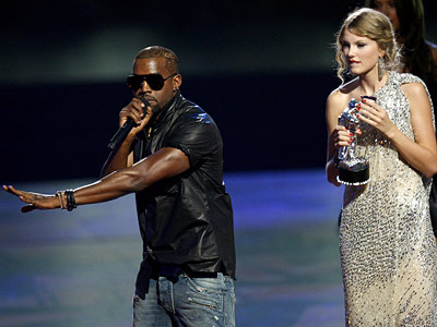 Kanye West, Taylor Swift | The Bad KANYE WEST (2009) Yes, the ''Single Ladies'' video is awesome. But that doesn't excuse West's decision to leap on stage when Swift's ''You…