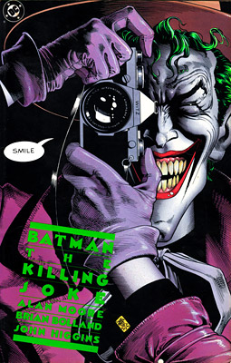 Batman: The Killing Joke, Alan Moore | THE KILLING JOKE Even though he was partial to Marvel's brand of funtime superheroing, Wright says he was also impacted by the creative renaissance of…