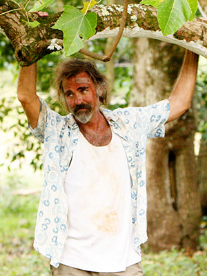 Lost, Jeff Fahey   Hawaiian shirt clad Hirsute pilot Lapidus Never got to Guam Submitted by Alex Diffenderfer