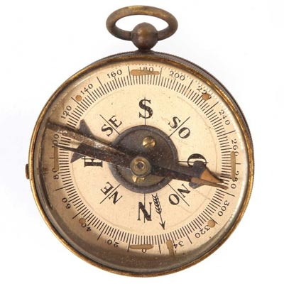 Lost | Richard Alpert gave Locke this compass during a time-shift sequence, so that Richard would believe Locke when they met up in a different time. Locke…