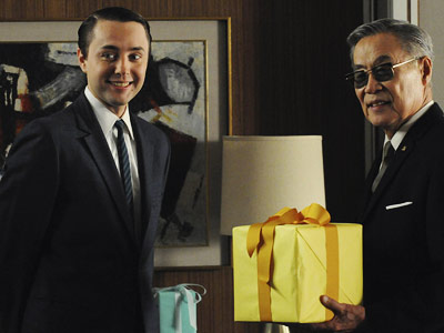 Mad Men, Vincent Kartheiser   Mad Men recap: Christ on a cracker Everyone had an unread copy of Ruth Benedict's book on their desk and Pete hilariously whisked a bouquet…