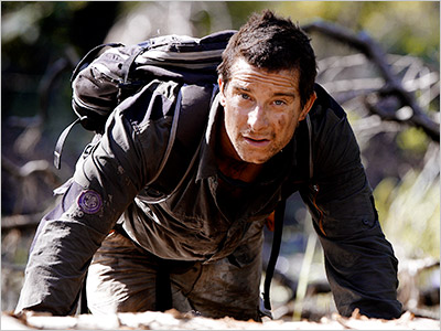 MAN VS. WILD Although Bear Grylls has yet to grill a bear, the survivalist has self-administered an enema and used a camel carcass as shelter…