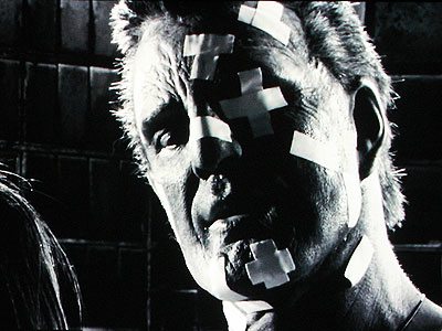 Sin City, Mickey Rourke   Mickey Rourke as Marv ( Sin City ) A dementedly chiseled noir protagonist seeking vengeance for a prostitute he barely knew. Nothing stops Marv, although…