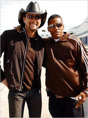 Nelly, Tim McGraw | 15. NELLY & TIM MCGRAW ''Over and Over'' (2004) Hip-hop's good-times guy and country music's family man wallowed in romantic regret on this spare, plaintive…