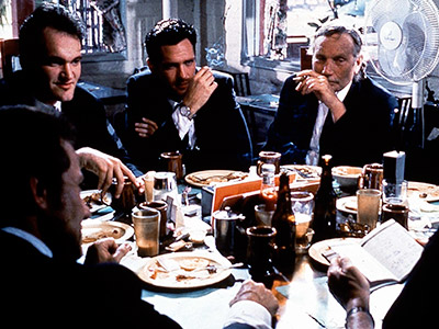 Reservoir Dogs | RESERVOIR DOGS Quentin Tarantino opened another movie with a diner scene as Mr. Blonde, Mr. Blue, Mr. Brown, Mr. Orange, Mr. Pink, gangster Joe Cabot,…