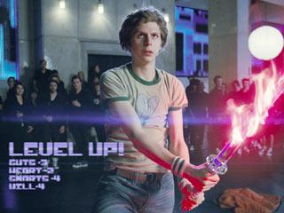Scott Pilgrim vs. the World | FLAME ON Michael Cera wields a flammable sword in Scott Pilgrim vs. the World