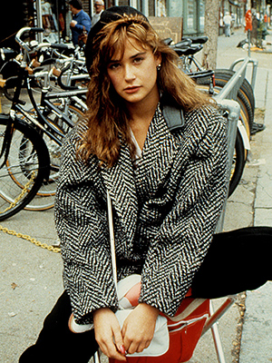 Demi Moore | DEMI MOORE AS JULES Then: Her sexy, little-girl-lost Jules had bad taste in men and a sweet tooth for the wild life.