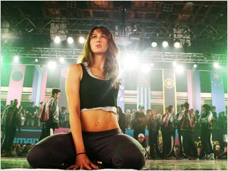 DANCE ATTACK Sharni Vinson invades the third dimension in Step Up 3D