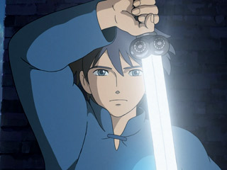 IT DOUBLES AS A FLASHLIGHT The hero of Tales From Earthsea