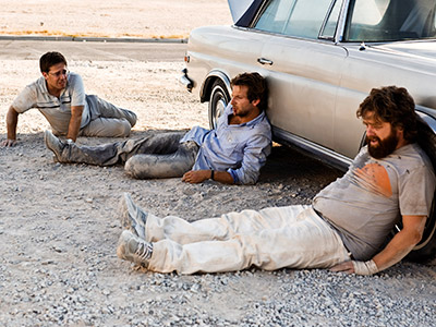 THE HANGOVER ''Things got out of control, and we lost Doug.'' These guys lost the groom at the bachelor party, and experience the Worst. Hangover.…