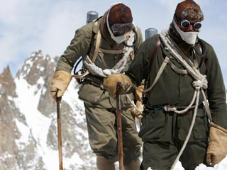 The Wildest Dream: Conquest of Everest | BECAUSE IT'S THERE Mountain climbers in The Wildest Dream: Conquest of Everest