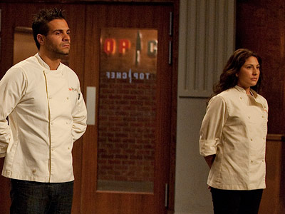 Top Chef   Top Chef recap: Buy me some peanuts and day-old tuna Rick was with Ed on this one, calling Amanda's mac and cheese a ''sledgehammer to…