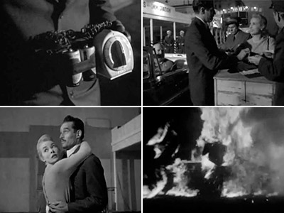 Touch of Evil | TOUCH OF EVIL In the opening scene, a shadowy figure places a time bomb in the trunk of a car. A crane shot follows the…