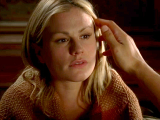 Anna Paquin, True Blood   BAD BLOOD Sookie, take Tara's advice and turn all this into country stardom.