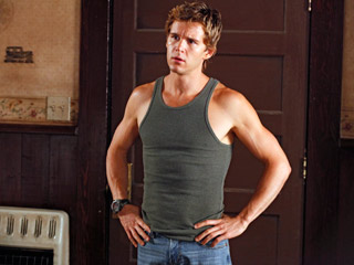 Ryan Kwanten, True Blood (Season 3 -- Episode 7: Hitting the Ground)   OH, BROTHER Jason never thought he was smart enough to be depressed. Ah, love.