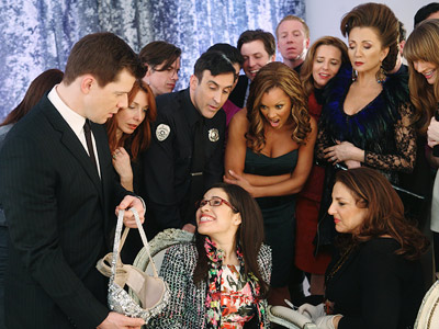 Ugly Betty, America Ferrera   Ugly Betty recap: 'Million Dollar Smile' And truly, the way the braces eventually came off — with the entire Mode staff surrounding Betty at the…