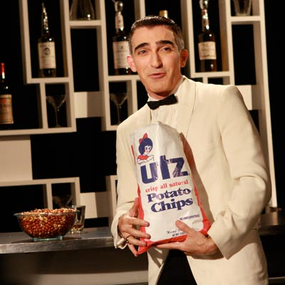 U: UTZ POTATO CHIPS Motormouth comic Jimmy Barrett (Patrick Fischler) was Sterling Cooper's choice as the spokesman for the snack-food brand. Jimmy's wife, Bobbie, was…