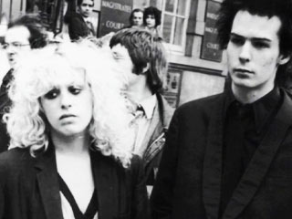 TRUE ROMANCE Sid Vicious and Nancy Spungen in the documentary Who Killed Nancy?