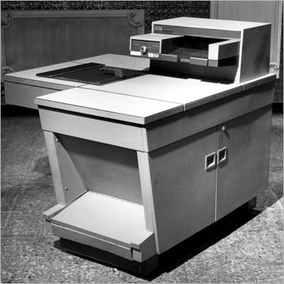 X: XEROX MACHINE The first fully automated plain-paper copier, and a cause for great jubilation among the secretaries.