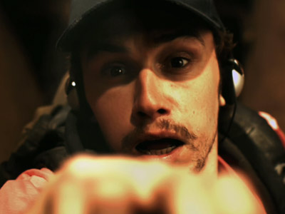 James Franco, 127 Hours   127 HOURS trailer James Franco scurries up a ledge, then descends into the abyss in a spot for Danny Boyle's drama about real-life hiker Aron…