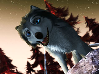 Alpha and Omega | LEADER OF THE PACK Humphrey (voiced by Justin Long) in Alpha and Omega