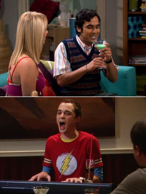 Jim Parsons, Kunal Nayyar, ... | DRUNK RAJ, DRUNK SHELDON What happens when nerds go wild? Amazing, amazing things. Raj can only converse with females if he's hitting the sauce. And…