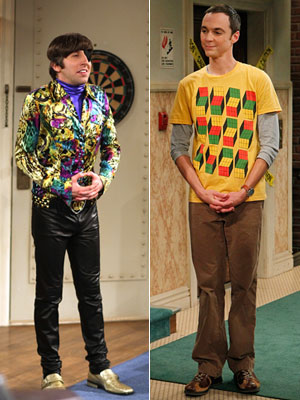 The Big Bang Theory | WOLOWITZ'S AND SHELDON'S WARDROBES From Sheldon's geeky T-shirts to Wolowitz's extreme color palette (not to mention passion for prints) to Penny's perky pjs, the show…
