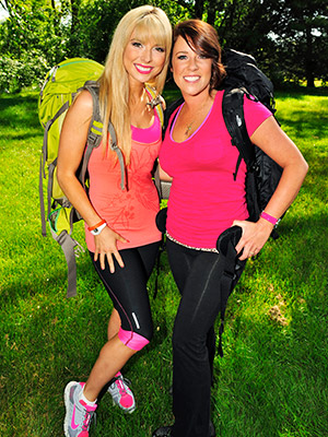 The Amazing Race | BROOK ROBERTS (left) Age: 27 Hometown: San Diego, Calif. Occupation: Home Shopping Host CLAIRE CHAMPLIN Age: 30 Hometown: Reno, Nev. Occupation: Home Shopping Host RELATIONSHIP:…