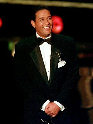 Bryant Gumbel   WORST: BRYANT GUMBEL The Emmy Awards: 1997 Funny people make good hosts. Unfunny people make bad hosts. Bryant Gumbel: not a funny person. — DF