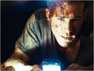 Ryan Reynolds, Buried | CAN YOU HEAR ME NOW? Ryan Reynolds hopefully has good service in Buried