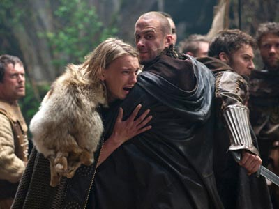 Camelot | The oft-told Arthurian legend lives again in Starz' upcoming series Camelot (premiering next spring), which features New Moon 's Jamie Campbell Bower (left) as the…