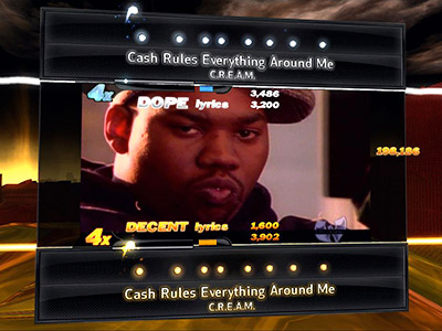 14. DEF JAM RAPSTAR (PS3, Xbox 360, Wii) It lets you rap. 'Nuff said. (10/5)