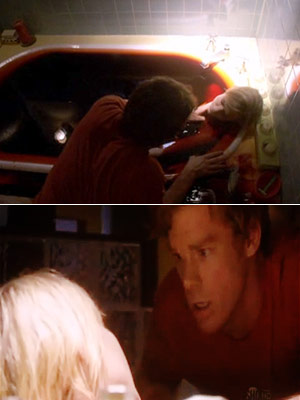 Dexter, Julie Benz, ... | ''Maybe Harry was wrong. Maybe things could turn out differently for me,'' Dexter said in the finale shortly before he dumped the body of the…
