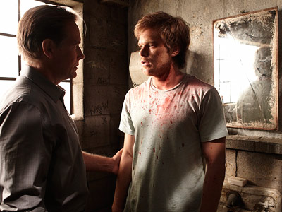 Dexter, Michael C. Hall | Credit goes to Harry again. He always stressed to Dexter the importance of appearing normal to the outside world. Simple human acts (like smiling for…