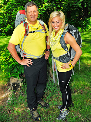 The Amazing Race | GARY ERVIN AGE: 53 HOMETOWN: Morganfield, Ky. OCCUPATION: Entrepreneur MALLORY ERVIN AGE: 24 HOMETOWN: Lexington, Ky. OCCUPATION: Miss Kentucky 2009 RELATIONSHIP: Father/Daughter
